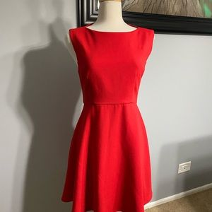 French Connection Red Dress size 12 new, no tag